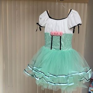 Dance costume size large child